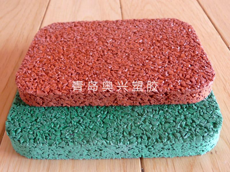 EPDM颗粒塑胶网球场材料
